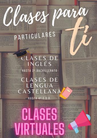 CLASES INGLÉS Y LENGUA CASTELLANA - foto 1