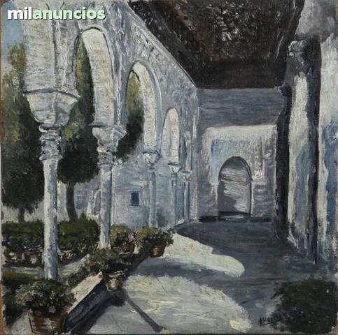 Óleo de a, hernÁndez (pintura, arte) - foto 1